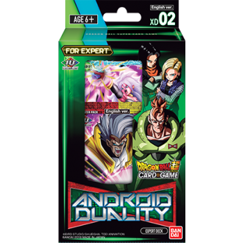 Dragon Ball Card Game Expert Deck 2 Android Duality