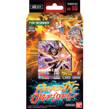 Dragon Ball Card Game Starter Deck 10 Parasitic Overlord