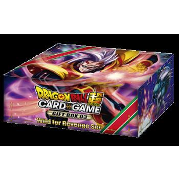 Dragon Ball Card Game Gift Box 3 Wild for Revenge