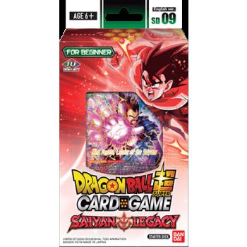 Dragon Ball Card Game Starter Deck 9 Saiyajin Legacy