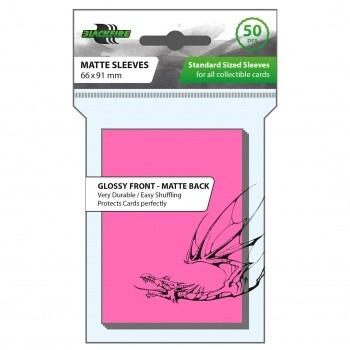 Blackfire Card Sleeves STD Pink (50 Sleeves)