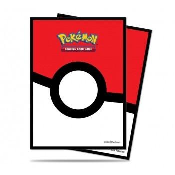 UP Card Sleeves STD Pokémon Pokéball (65 Sleeves)