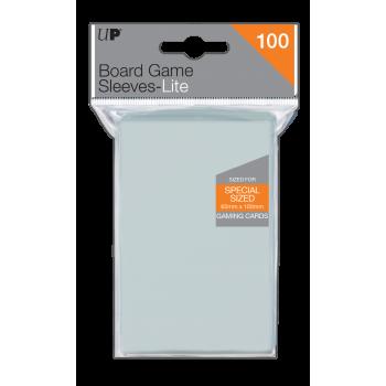 UP Lite Board Game Sleeves 65mm x 100mm (100 Sleeves)