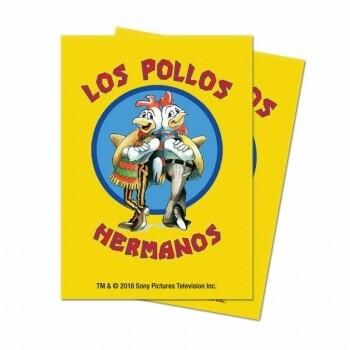 UP Card Sleeves STD Breaking Bad Los Pollos (100 Sleeves)