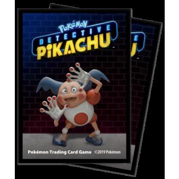 UP Card Sleeves STD Detective Pikachu Mr. Mime (65 Sleeves)