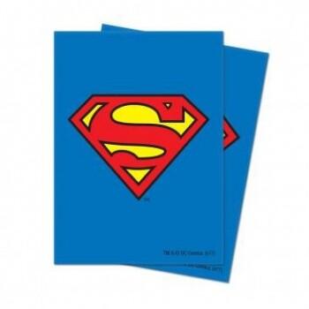 UP Card Sleeves STD Superman (65 Sleeves)