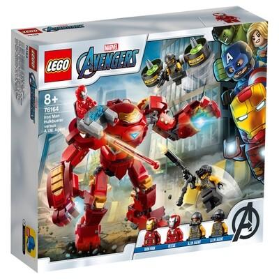 Iron Man Hulkbuster vs. A.I.M.-Agent