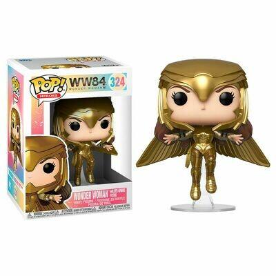 POP Figure DC Wonder Woman 1984 Wonder Woman Gold Flying Pose