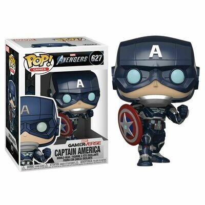 POP Figure Marvel Avengers Game Captain America Stark Tech Suit