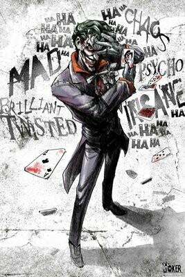 DC Comics Maxi Poster Joker Type