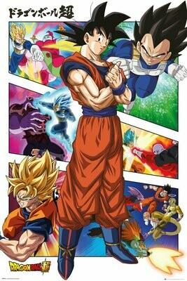 Dragon Ball Maxi Poster Panels