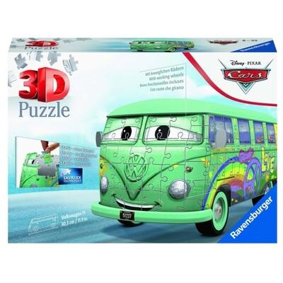 Puzzle 3D Volkswagen T1 Cars