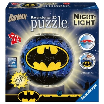 Puzzleball Batman Nachtlicht