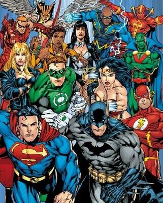 DC Comics Mini Poster Justice League Collage