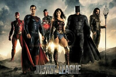 Justice League Maxi Poster Characters