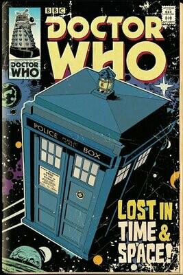 Doctor Who Maxi Poster Tardis Comic
