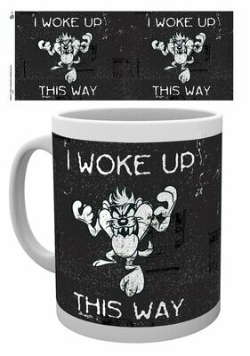Looney Tunes Mugs Taz Woke UP