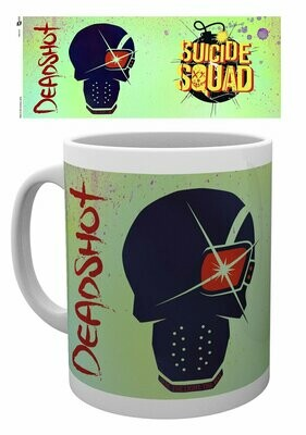 Suicide Squad Mug Deadshot Skull