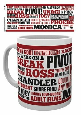 FRIENDS Mugs Quotes