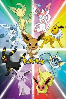 Pokemon Maxi Poster Eevee Evolution