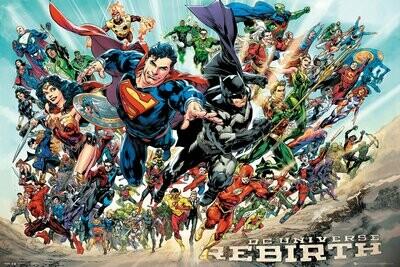 DC Comics Maxi Poster Rebirth