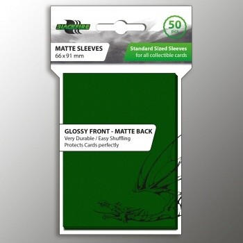 Blackfire Card Sleeves STD Green (50 Sleeves)