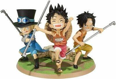 One Piece Figur Luffy&Ace&Sabo