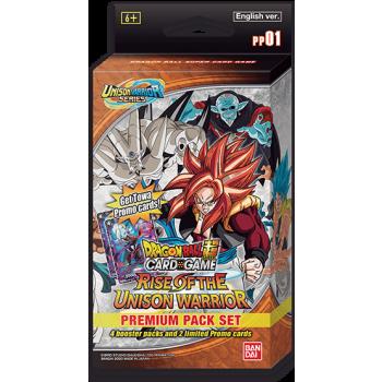 Dragon Ball Card Game Premium Pack Set 01 Rise of the UnisonWarrior