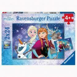 Puzzle Frozen Nordlichter