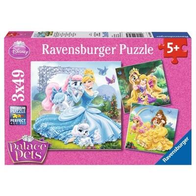 Belle Cinderella und Rapunzel