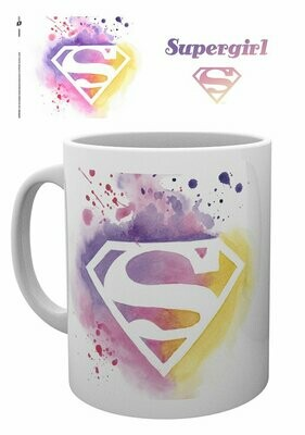 Supergirl Mugs Paint