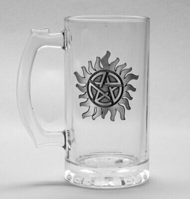 Supernatural  Glass Stein Anti Possession