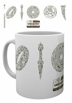 Uncharted Mug 10 Years Logo
