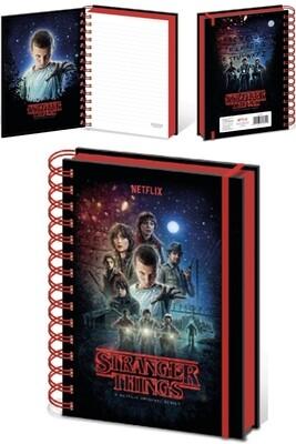 Stranger Things Notebook