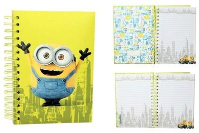 Minions Stuart Notebook with light & sound