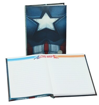 Marvel Captain America Notebook with light