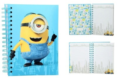 Minons Kevin Notebook