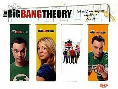 Big Bang Theory Magnetic Bookmark