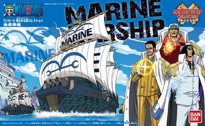 One Piece Grand Ship Marine Ship