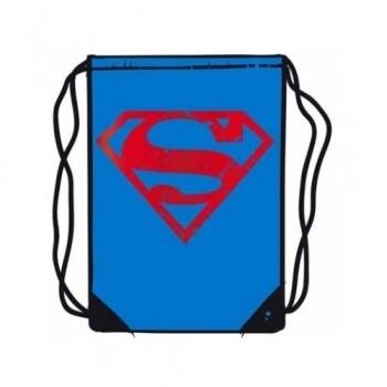 Superman Logo Gym Bag