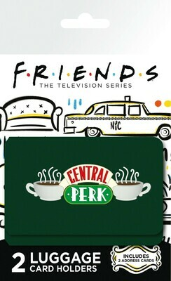 FRIENDS Luggage Card Holder Central Perk