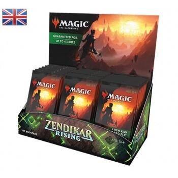 Magic the Gathering Zendikar Rising Set Booster EN