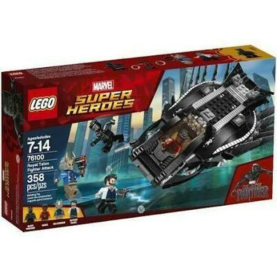 Marvel Black Panther Royal Talon Fighter Attack