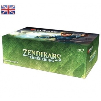 Magic the Gathering Zendikar Rising Draft Booster BOX EN