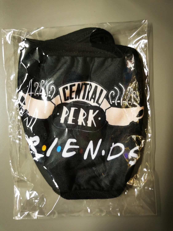 Masken FRIENDS Cental Perk peach