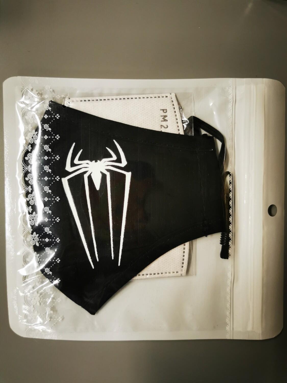 Maske Logo Spiderman