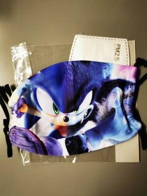 Masken Sonic Blue twoface