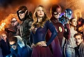 Arrow, Supergirl and the Flash