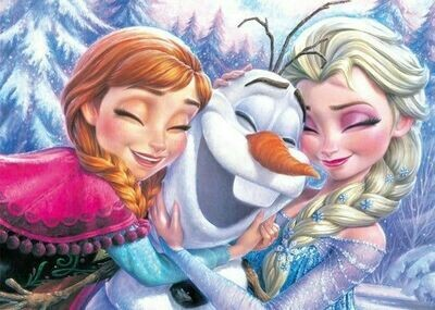 Anna, Olaf und Elsa