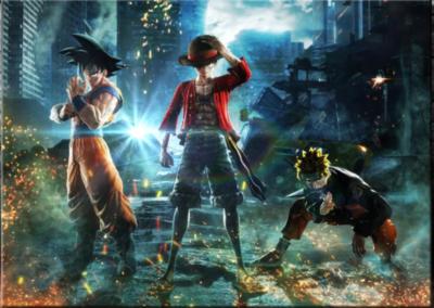 Son Goku, Ruffy and Naruto